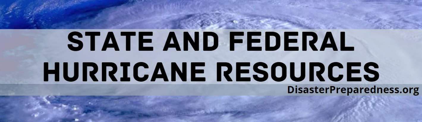 State and Federal Hurricane Resources