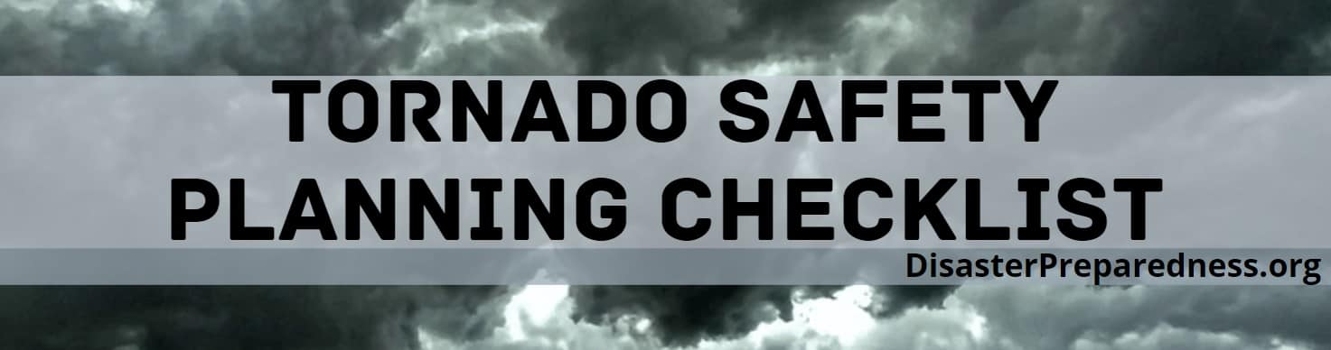 Tornado Safety Planing Checklist