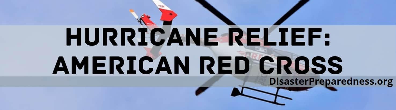 Hurricane Relief, American Red Cross