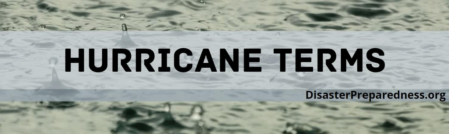 Hurricane Terms