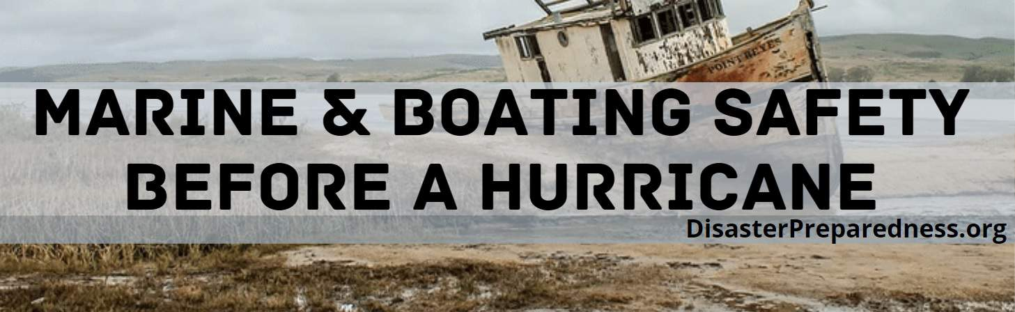 Marine and Boating Safety Before a Hurricane