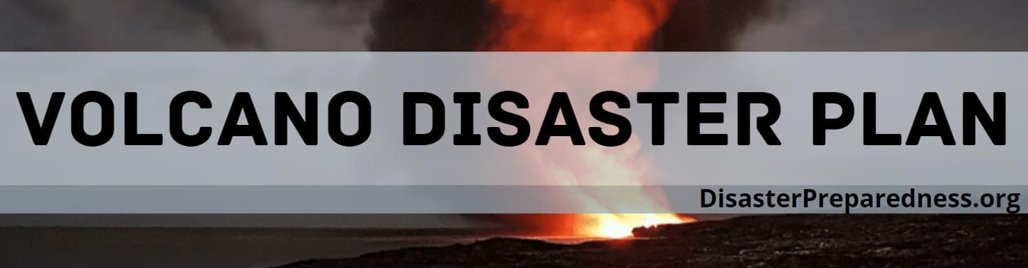Volcano Disaster Plan